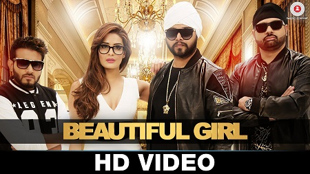 Beautiful Girl Music Video Ramji Gulati & Rap Mack Latest Hindi Songs 2016 Dj Sukhi & Rushali Rai