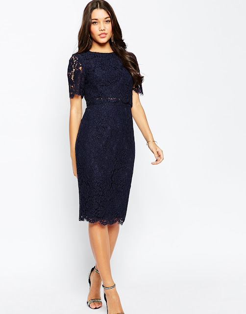 asos black lace layer dress, black lace midi dress,