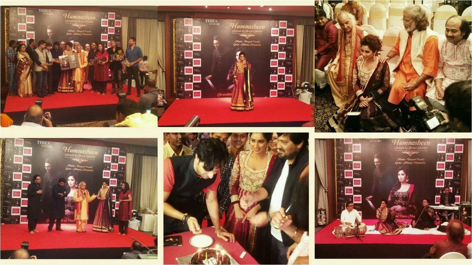Humnasheen Music Launch on Birthday of Shreya Ghoshal: What a Musical Night!