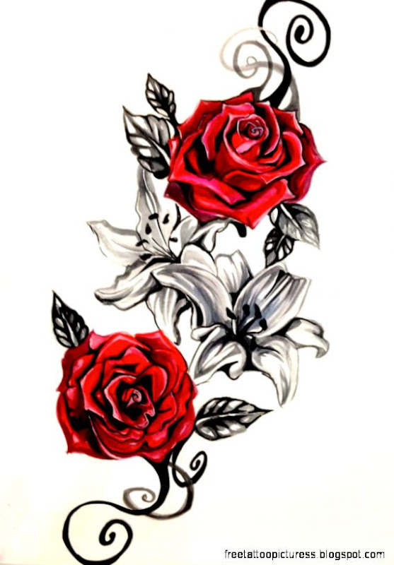 28997a318 Image Sourcerose tattoo tattoo roseRose Design by Lucky978 on DeviantArt  Rose Design by Lucky978 on DeviantArt