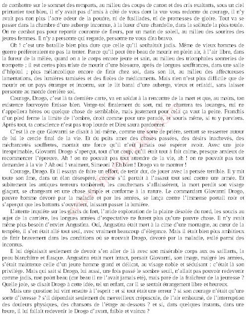 Le désert des Tartares PDF de Dino Buzzati