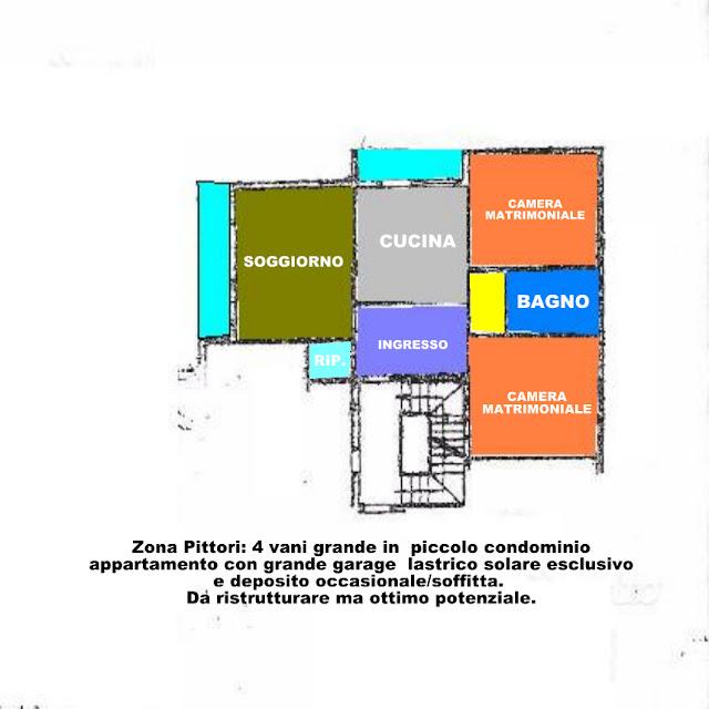 grossetocase.com vende 4 vani stadio Grosseto