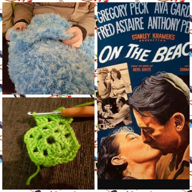 Saturday Night movies & crochet