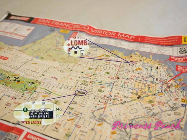 舊金山地圖