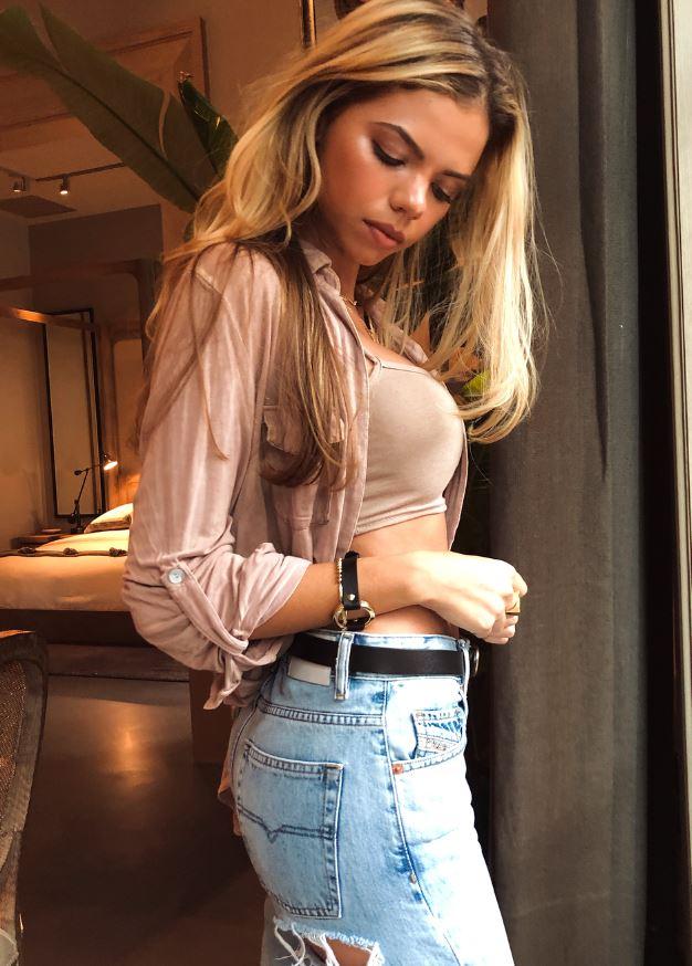 Американська модель Аллі Мартінес (Alli Martinez)