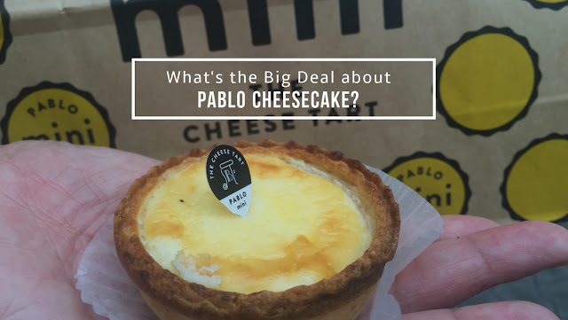 Pablo Cheesecakes from Osaka Japan to Manila