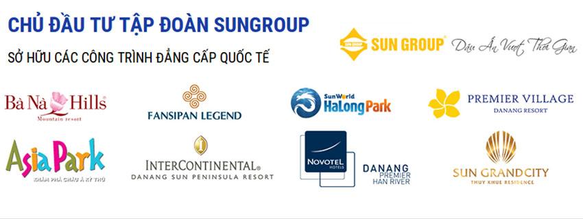 Dự án bất động sản Tập đoàn Sun Group