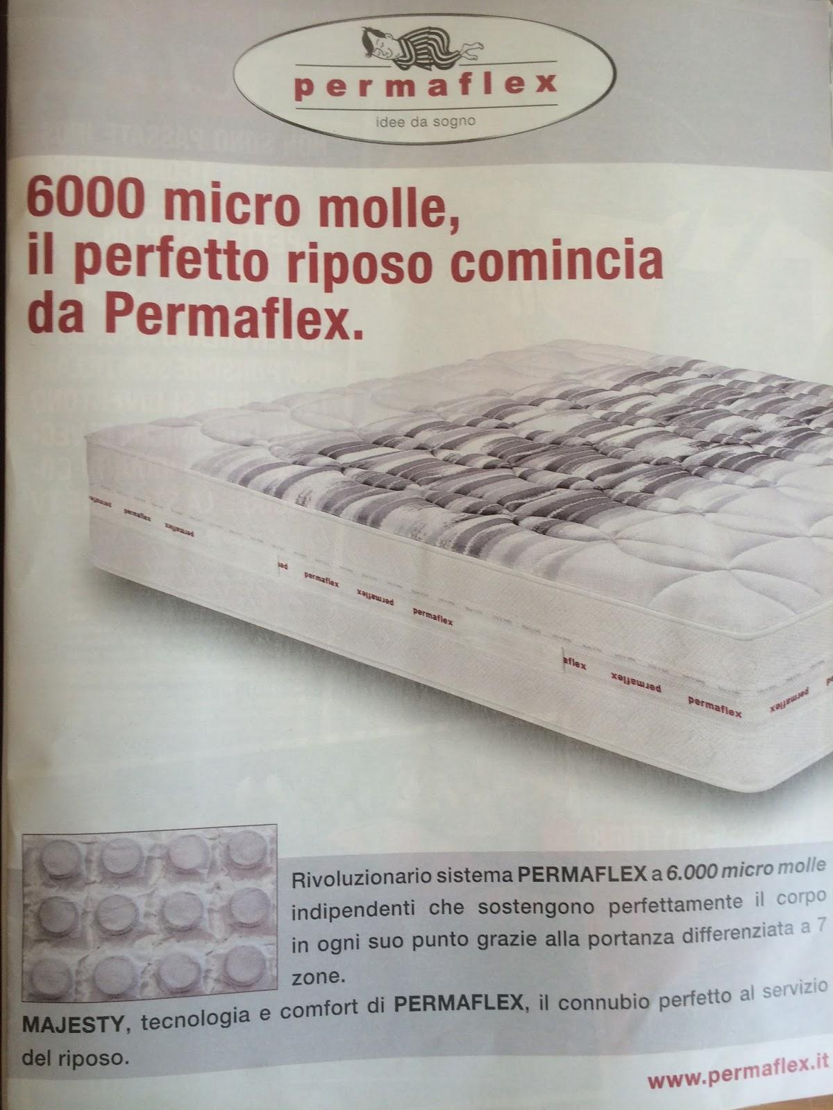 Centro Permaflex Blog: Nuova Pubblicità materasso Permaflex Majesty ...
