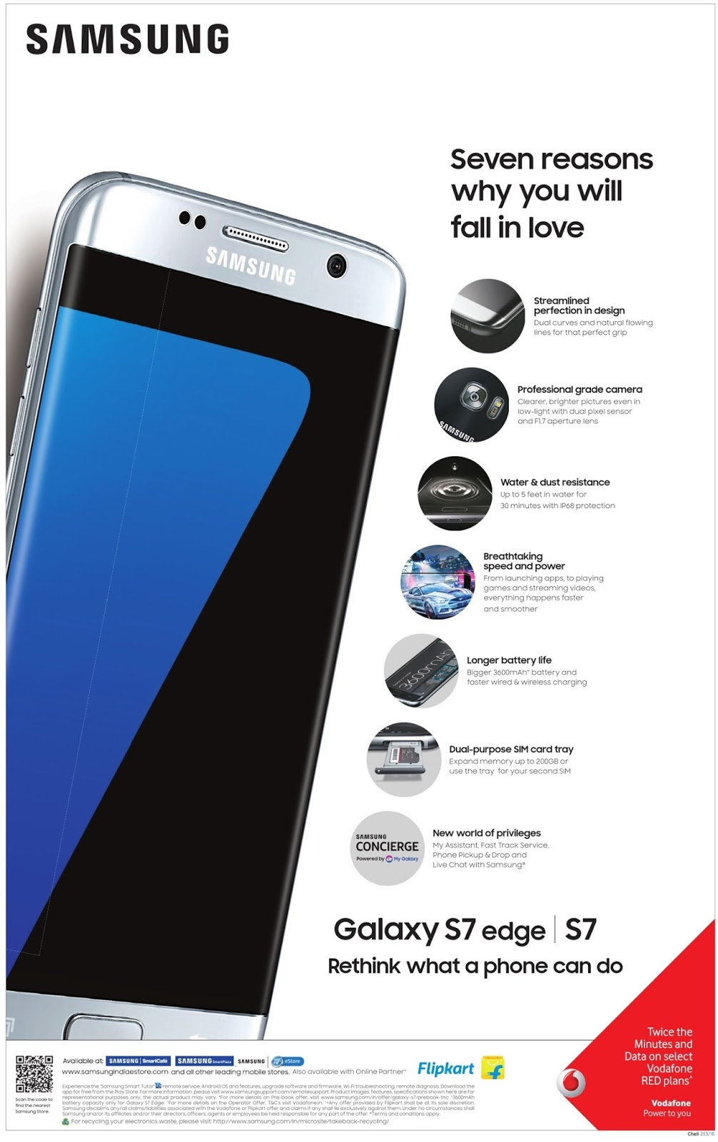 Pre-book Galaxy S7 edge and avail a great offer.