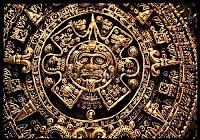 Магический череп майя