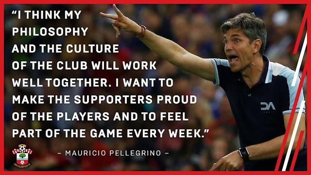 Mauricio Pellegrino nuevo técnico del Southampton. Firma tres temporadas.