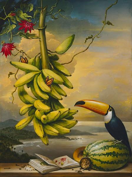 A Naturalista - Kevin Sloan e suas pinturas mágicas