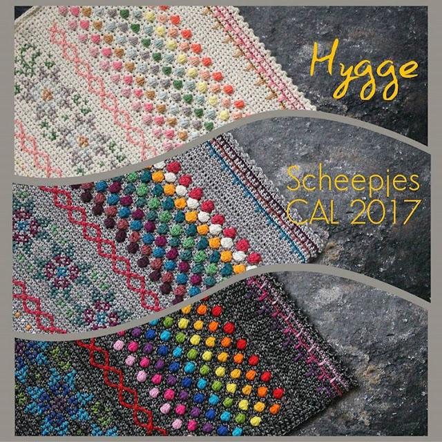 Scheepjes Hygge CAL 2017 by Kirsten Ballering of Haakmaarraak