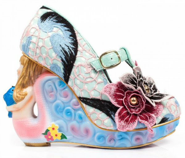 Irregular Choice aquata mermaid blue