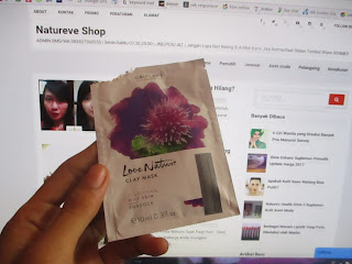 Review Love Nature Clay Mask Burdock ORIFLAME