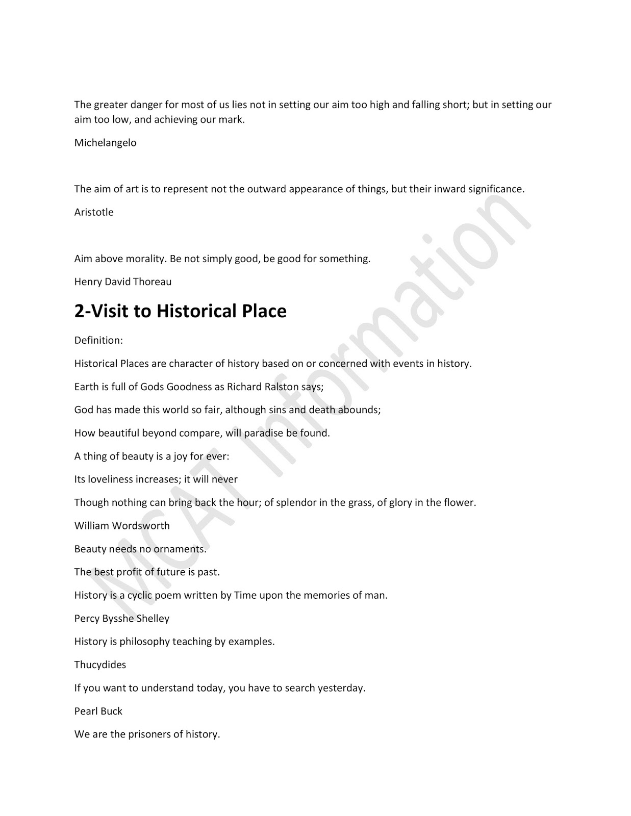 A visit to historical place   English Essay PDF Read Online and     fmservispraha cz
