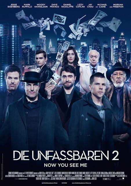 El reparto al completo en el nuevo póster de 'Ahora me ves 2'