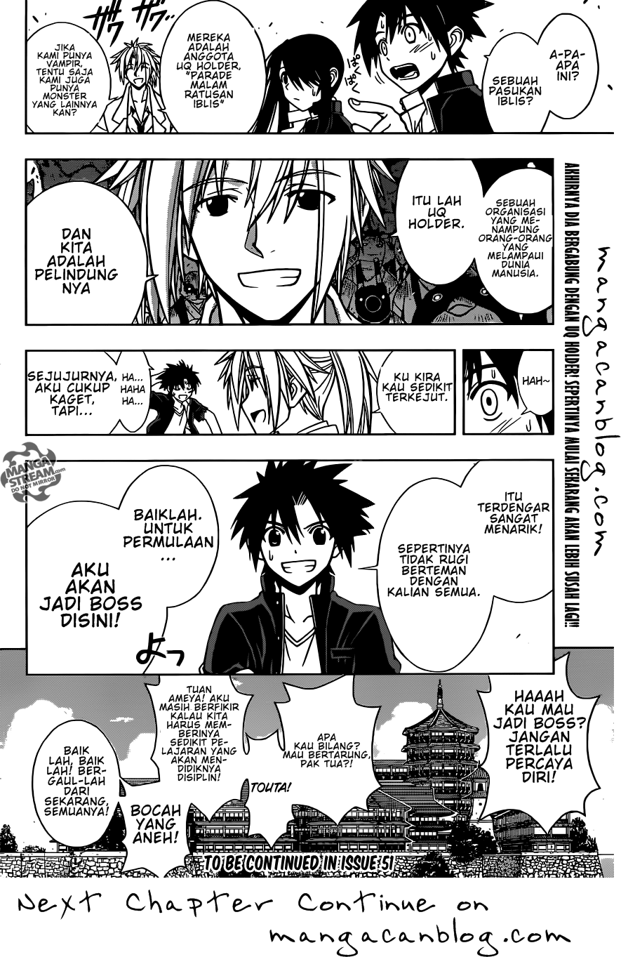 Baca Manga UQ Holder! Chapter 11 Bahasa Indonesia