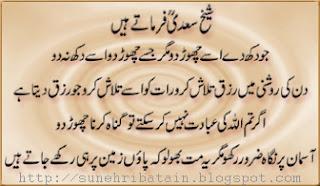 hikayat-e-saadi,sunehri hikayaten,achi batein facebook
