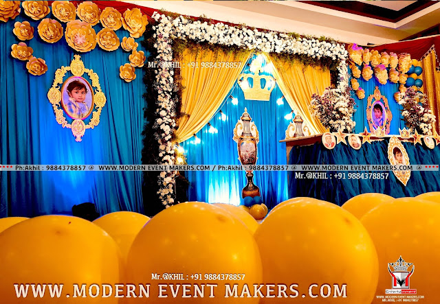 Royal Prince Theme For Birthday Party
