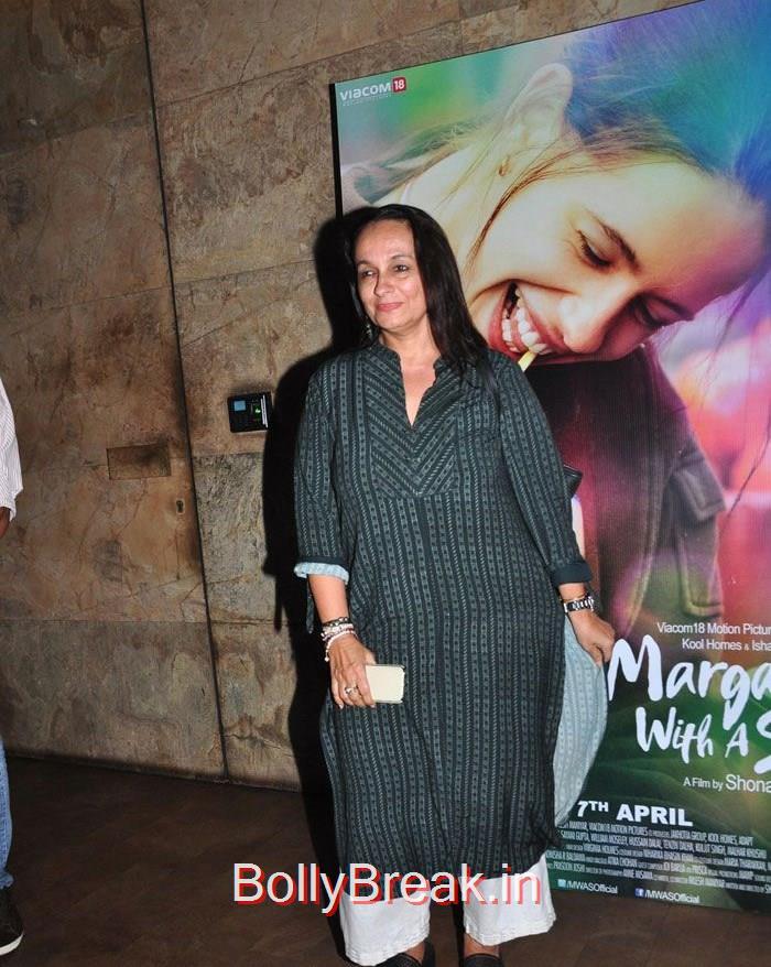 Soni Razdan, Kalki Koechlin , Aditi Rao Hydari HOt Pics From 'Margarita, With A Straw' Special Screening
