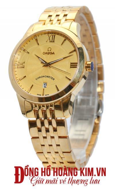 đồng hồ nam dây thép omega thời trang