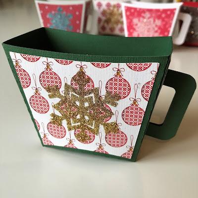 Hot Cocoa Mug - 3D-modell, monterad och dekorerad