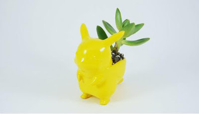 Pikachu Ceramic Planter
