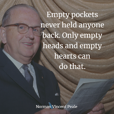 Norman Vincent Peale quotes about success