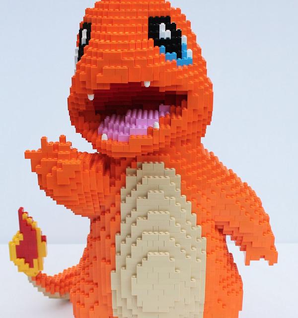 Alucina con estos pokémon hechos con piezas LEGO 2