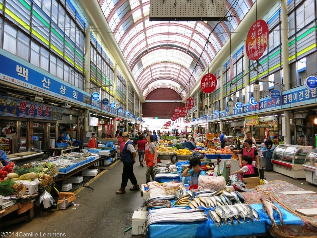Pyeongtaek-si market, South Korea