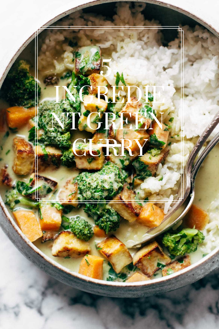 #5-ingredient #green #curry