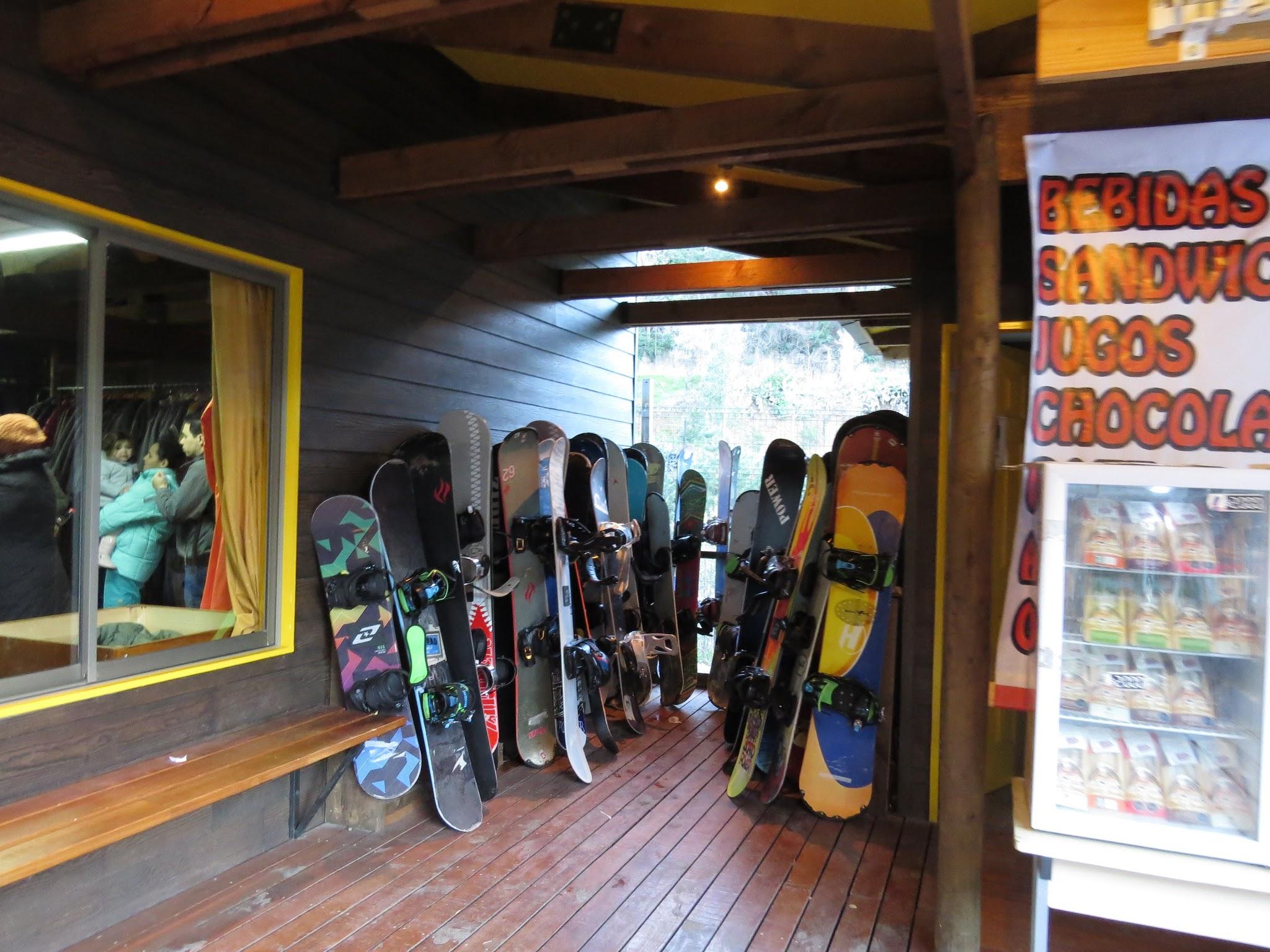 Equipamentos de esqui no Chile é caro?