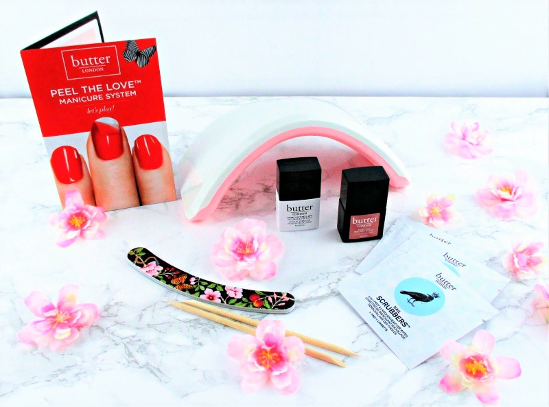 Love It or Lose It? | Testing the Butter London PureCure Peel the Love Gel Manicure System What is in the Box
