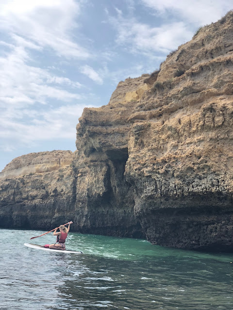 benagil cave portugal travel blog