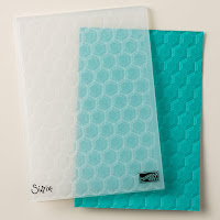 Learn what you can create with the Hexagons embossing folder by Stampin' Up!