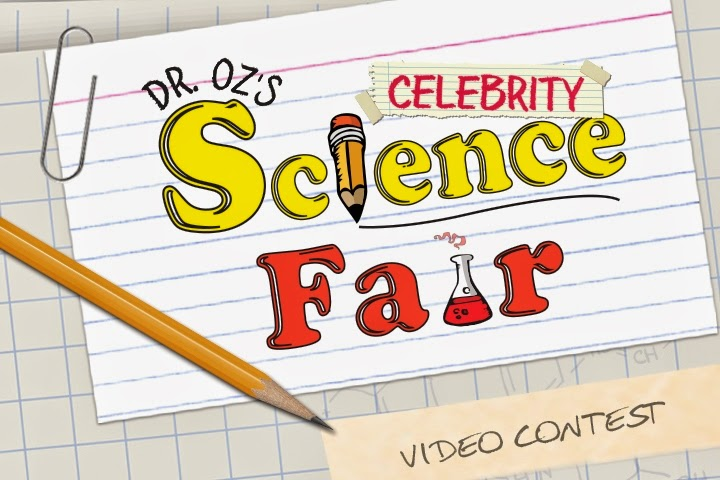 Enter to Win Dr. Oz's Celebrity Science Fair via www.Productreviewmom.com