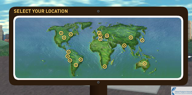 Select your location on map