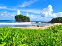 15 Spot Foto Keren Pantai Jungwok Gunung Kidul Yogyakarta : Rute Lokasi, Harga Tiket, Fasilitas