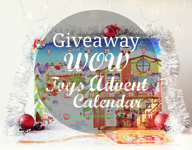 blog giveaway to win a toy advent calendar from WOW toys - advent calendar of your choice with 24 toys - one each day in the run up to Christmas