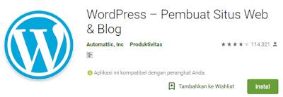 aplikasi untuk ngeblog di hp android