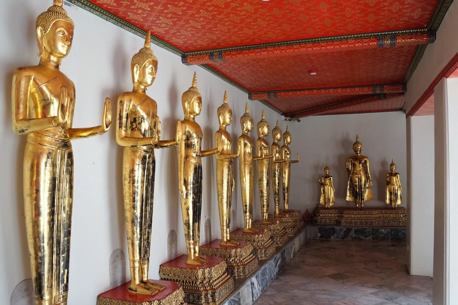 wat arun, wielki pałac królewski, tajlandia