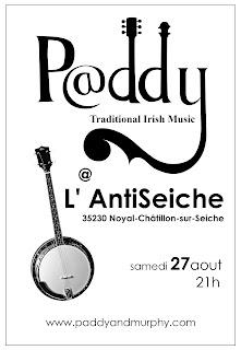 Affiche Paddy