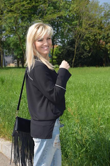 outfit nero come abbinare il nero abbinamenti nero outfit aprile 2017 outfit primaverili mariafelicia magno fashion blogger colorblock by felym fashion blog italiani fashion blogger italiane blog di moda blogger di moda