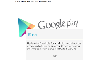 How to Solve Google Playstore Error on Android