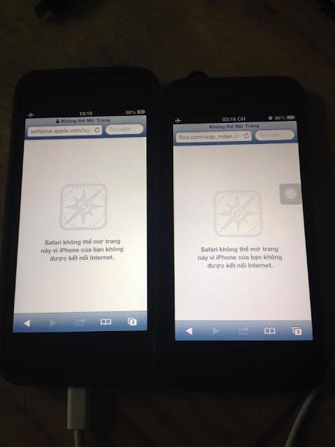 Hiện tượng ám xanh ám vàng trên Iphone