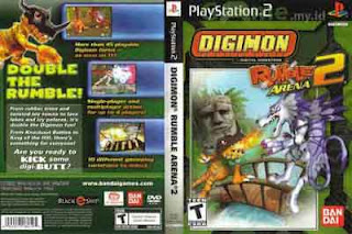 Kumpulan Cheat Digimon Rumble Arena 2 di PS2