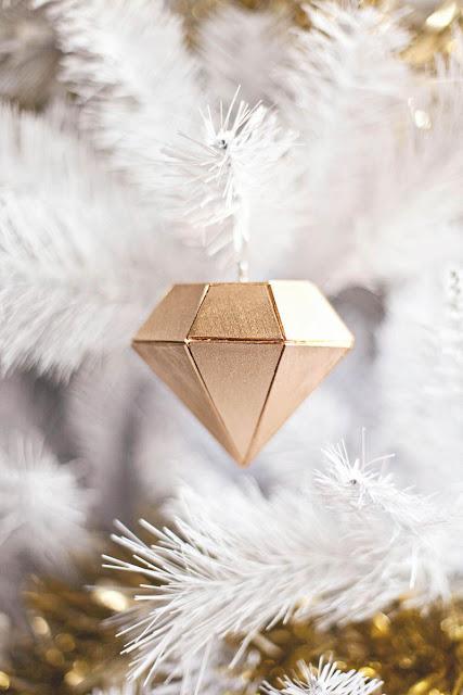 DIY: Diamantes por Navidad