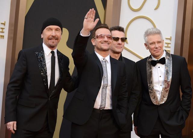 U2 (Ceremonia de los Oscar 2014)