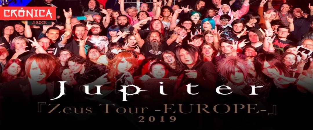 "Jupiter ""Zeus Tour -EUROPE- 2019"" - Concierto en la sala Bóveda (Barcelona)"